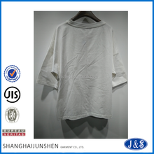 High quality plain blank t shirt women bulk plain white t shirts