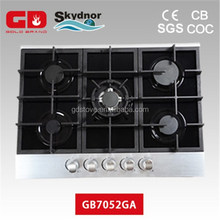 Wonderful Glass Panel with Aluminum Bar Japanese Gas Stove
