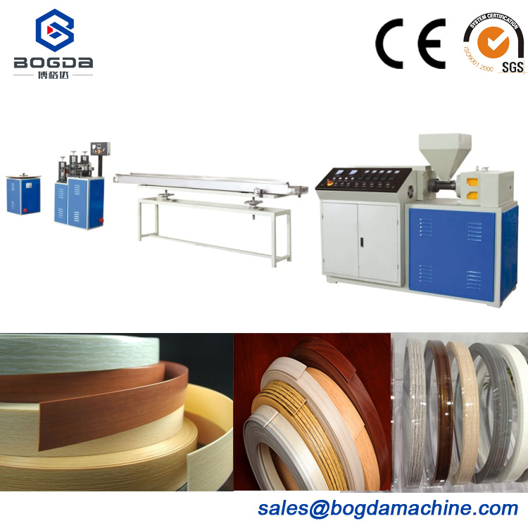 PVC Furniture High Efficiency Edge Banding Sheet Extrusion Production Line