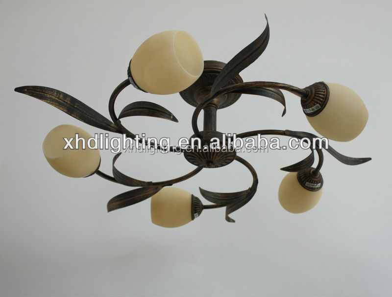 Hot sale home lamp ceiling lamp & chandelier ceiling light 10078-5