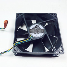 DC 92*92*25mm CPU Cooler 4 Pin PWM Speed Control Cooling Fan 12V 24V DC Axial Brushless Fan CE Approved
