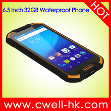 Unlocked 6.5 Inch Big Screen 3GB RAM 32GB ROM NFC Runbo F2 IP67 Waterproof Rugged Smartphone 4g Lte