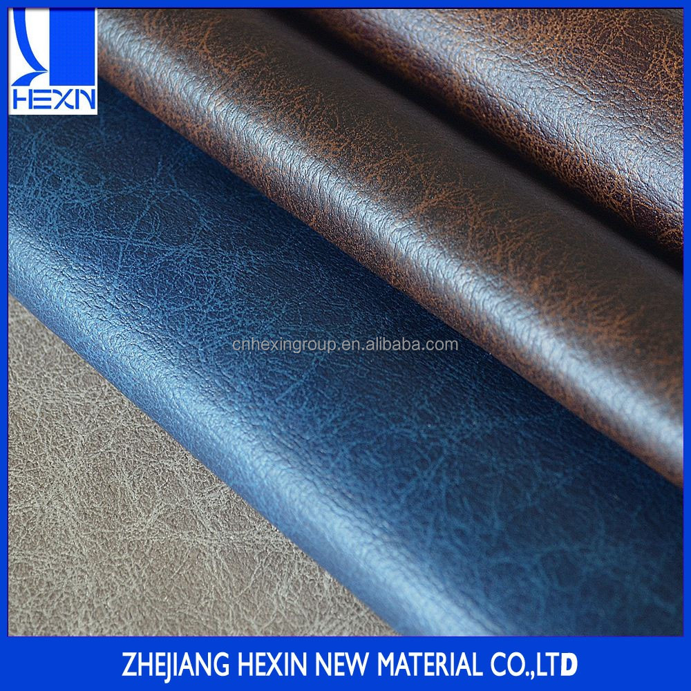 China manufacture 1.2mm pu sofa synthetic leather for sofa making