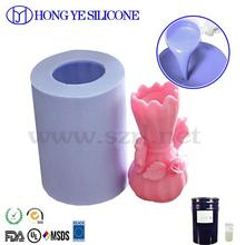 RTV silicone for hand cast garden decorations mold making