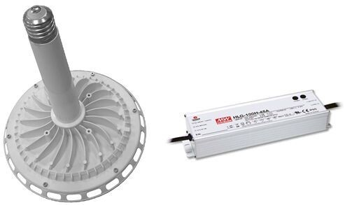 High lumen 120lm/w Meanwell HLG driver 200w ufo led high bay light