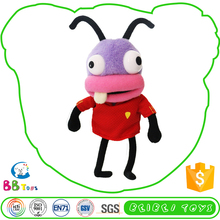 Factory Supply Customised Stuffed Animals Baoya Purple Head Insect