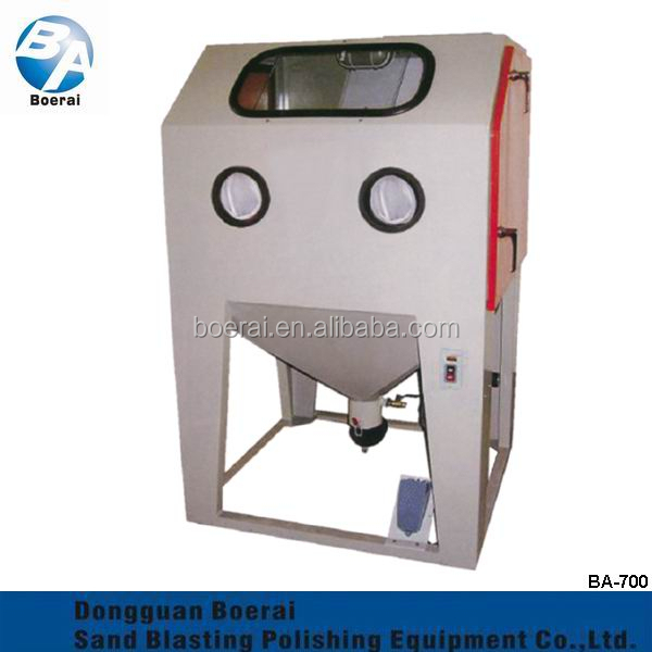 Manual Inhaled Type Sand Blasting Machine / Dry suction type Manual Electric sandblasting machine