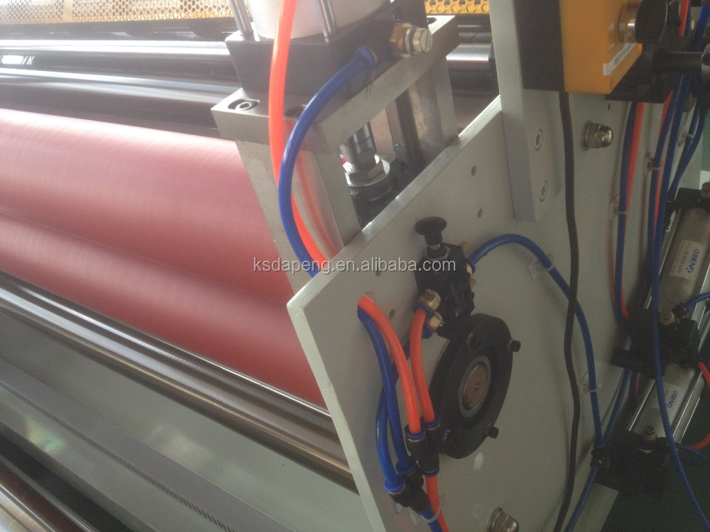 DP-1300 paper slitting machine with laminating rewinding function