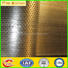Perforated Sheet Metal Decorative with artistic style /perforated steel plank/lowes perforated sheet metal