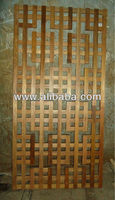 Hard wood screen