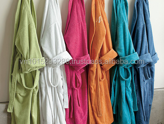 Many choices color Bath Robes bathrobes