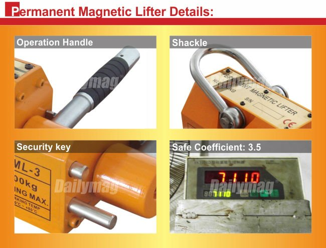 Heavy Duty 660 lb Steel Lifting Magnet Neodymium Magnet Magnetic Lifter 5 Ton