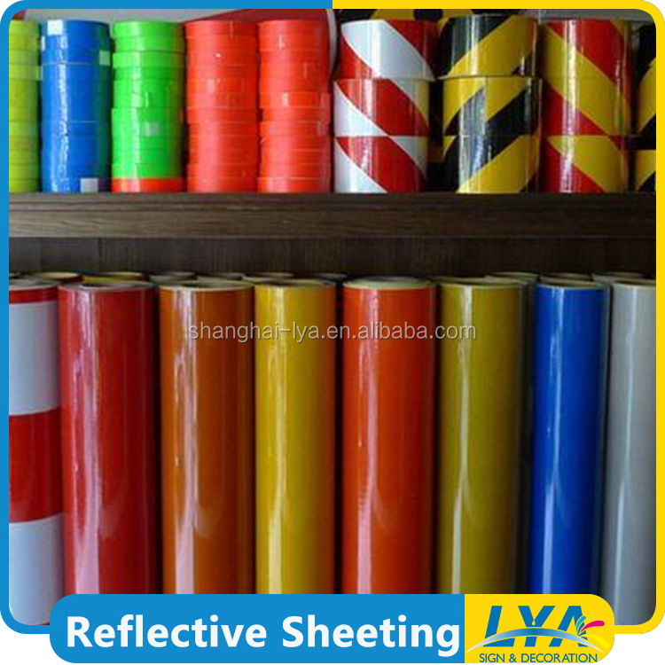 cheap cost service supremacy self adhesive reflective sheeting