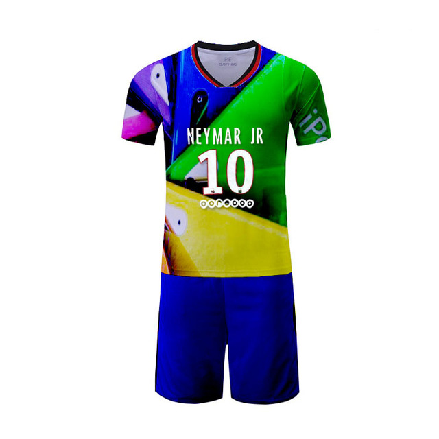 Custom kids soccer jersey italy custiom football clothes