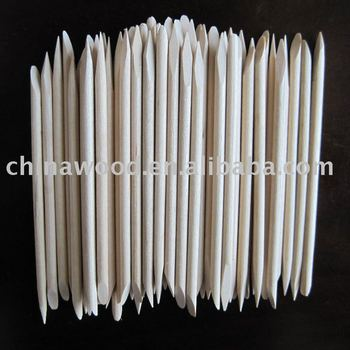 wooden manicure sticks