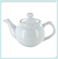 White ceramic porcelain teapot wholesale