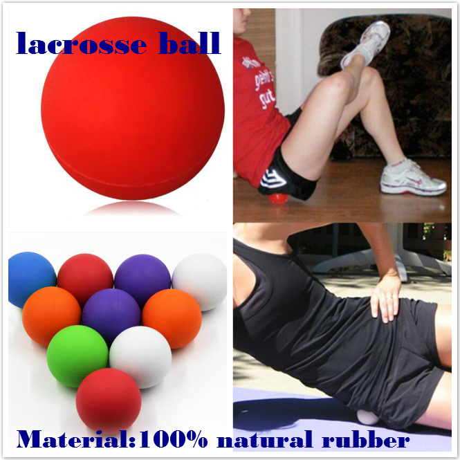 wholesale Fitness Equipment Rubber Lacrosse Ball