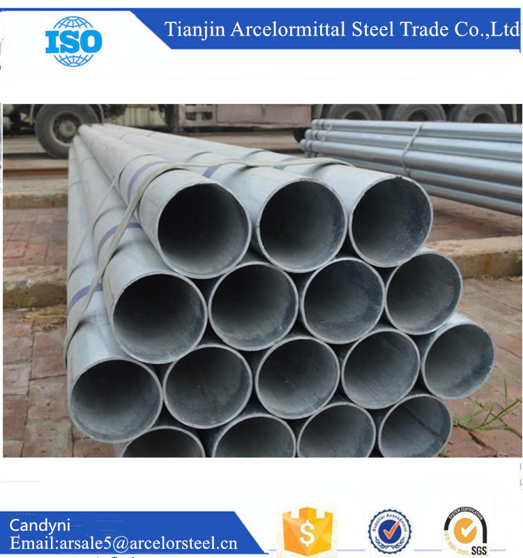 Best Building Materials Rigid Mild 50mm Galvanized Steel Pipe With Good Quality Suppliers China