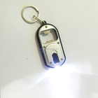 wholesale decoration protable promotion small gift custom logo beer bottle opener LED light car key chain with light