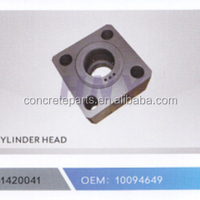 High Performance Cylinder Head For Schwing