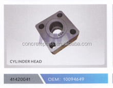 high performance cylinder head for schwing concrete pump