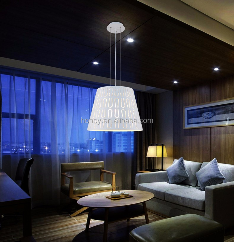 SGS approval high quality 40 W living room decorative lamp metal led modern pendant light