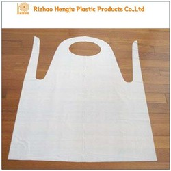 Hot Sale Disposable PE Plastic Aprons Daily Consumable Items Hdpe/Ldpe Medical Disposable Aprons