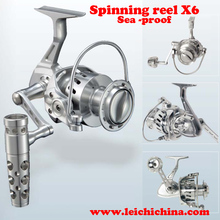 High Quality sea proof all CNC cut aluminum spinning reel
