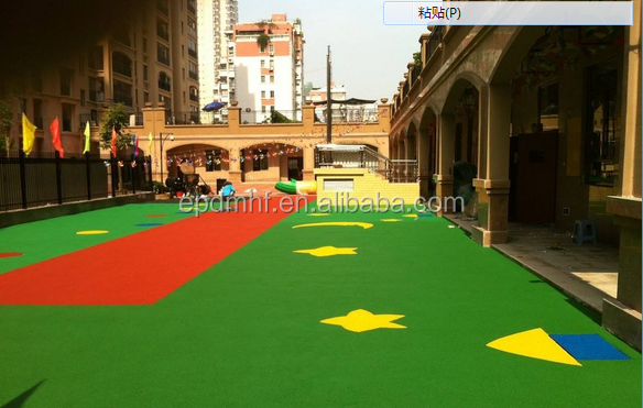 hot sell EPDM crumb rubber for running track , sports flooring, playground , colourful non-toxic , best exporter in China