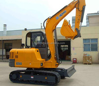 XCMG 6 Ton Mini New Excavator Price For Sale XE60CA Chinese excavator