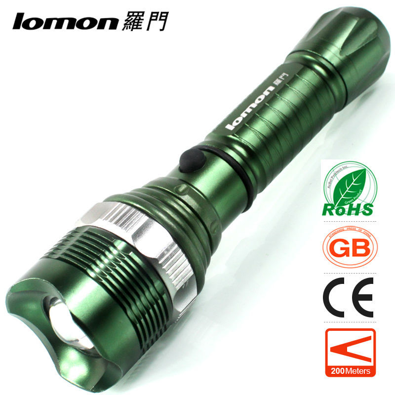 Led High Power Multifunction Police Green Led X800 Tactical Flashlight