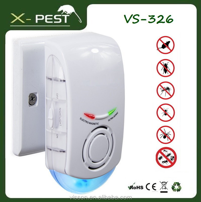 VS-326 X-pest 3 in 1 10V 220V AC pest insect repeller uk plug, electronic mosquito swatter