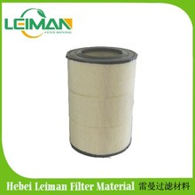 heavy truck Air filter C32160 /Diamond filter mesh/ Deep filtration paper/High tensile strength PU end caps