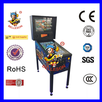 3 screen Mini Folding Pinball Arcade Machine