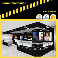 Display Experts D-Creative Customized Watch Shop Decoration Design 3D Image Effect Picture of Famous Watch Brand Citizen Counter
