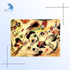 canvas wall decorative for famous oil abstract painting reproduction from china