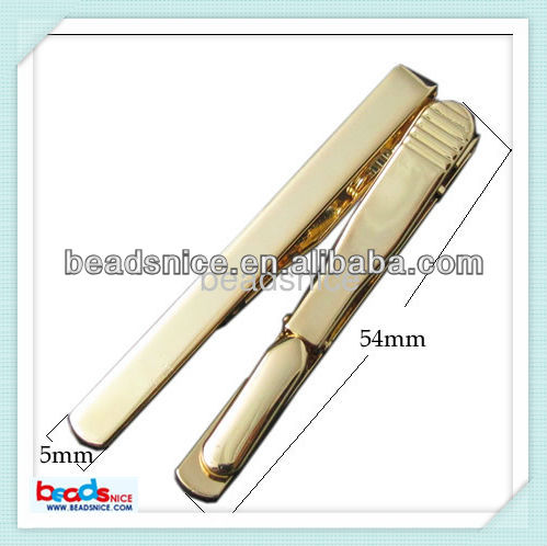 Beadsnice ID 23637 brass Wholesale alibaba jewelry Flat Tie Clip basketball tie clip