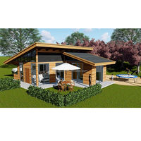 Low Cost Structural Insulated Panel Prefab Construction Modern House From China Builder For Sale