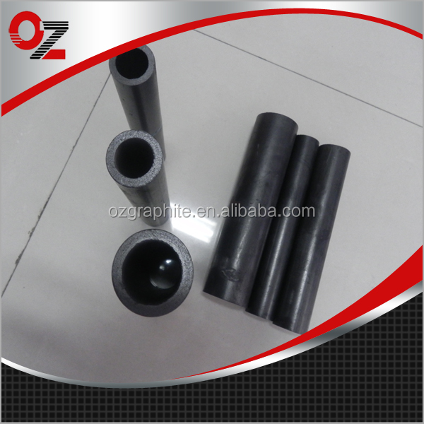 Low sulfur and low ash graphite pipe for various aluminum alloys