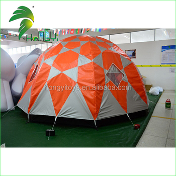 Customized Waterproof Durable Dubble Layer Tents / Portable Unique Outdoor Camping Folding Tent
