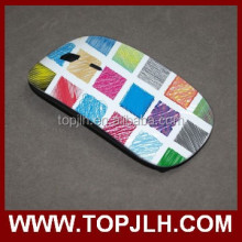 Topjlh decorative computer custom logo wireless optical mouse