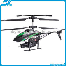 !V398 3CH Missile shooting helicopter with GYRO rc helicopter airsoft gun the best selling in 2016