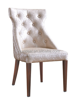 Imitation wood dining chair restaurant (NB5382)