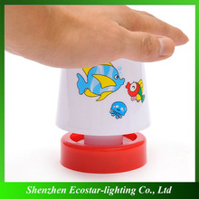 Modern fashion led bedroom lamp baby nightlight kids led night light with battery