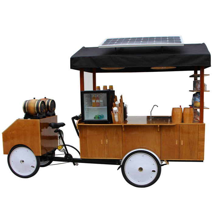 dynamo coffee cart trailer van with CE certification Philippines manufacturer supplier