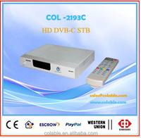 set top box dvb-c for cable tv system