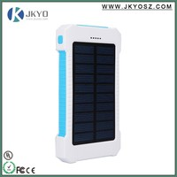 high capacity power bank innovative products for import/anker 8000mah solar power bank battery charger with dual usb