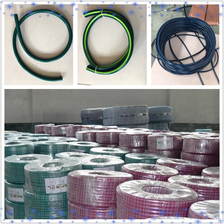 Customized production 3/4 inches diameter 100ft Length PVC garden water hose