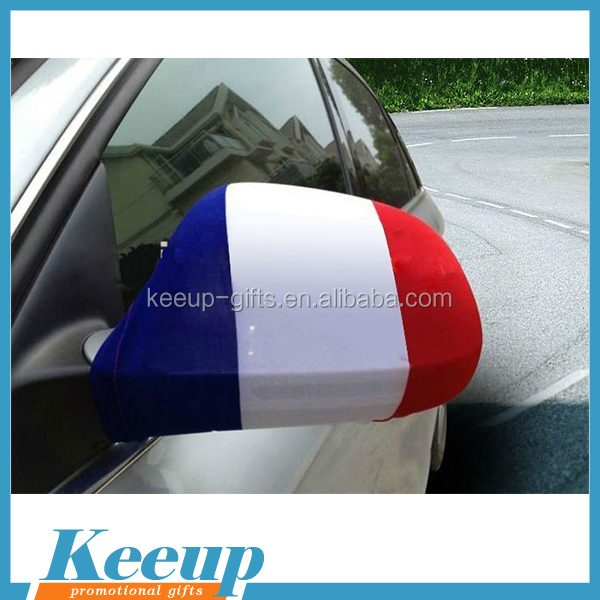 Wholesale custom elastic car mirror flag cover