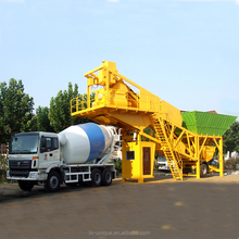 35cbm/h Mobile ready-mixed beton batching plant 35m3 concrete batching plant calibration